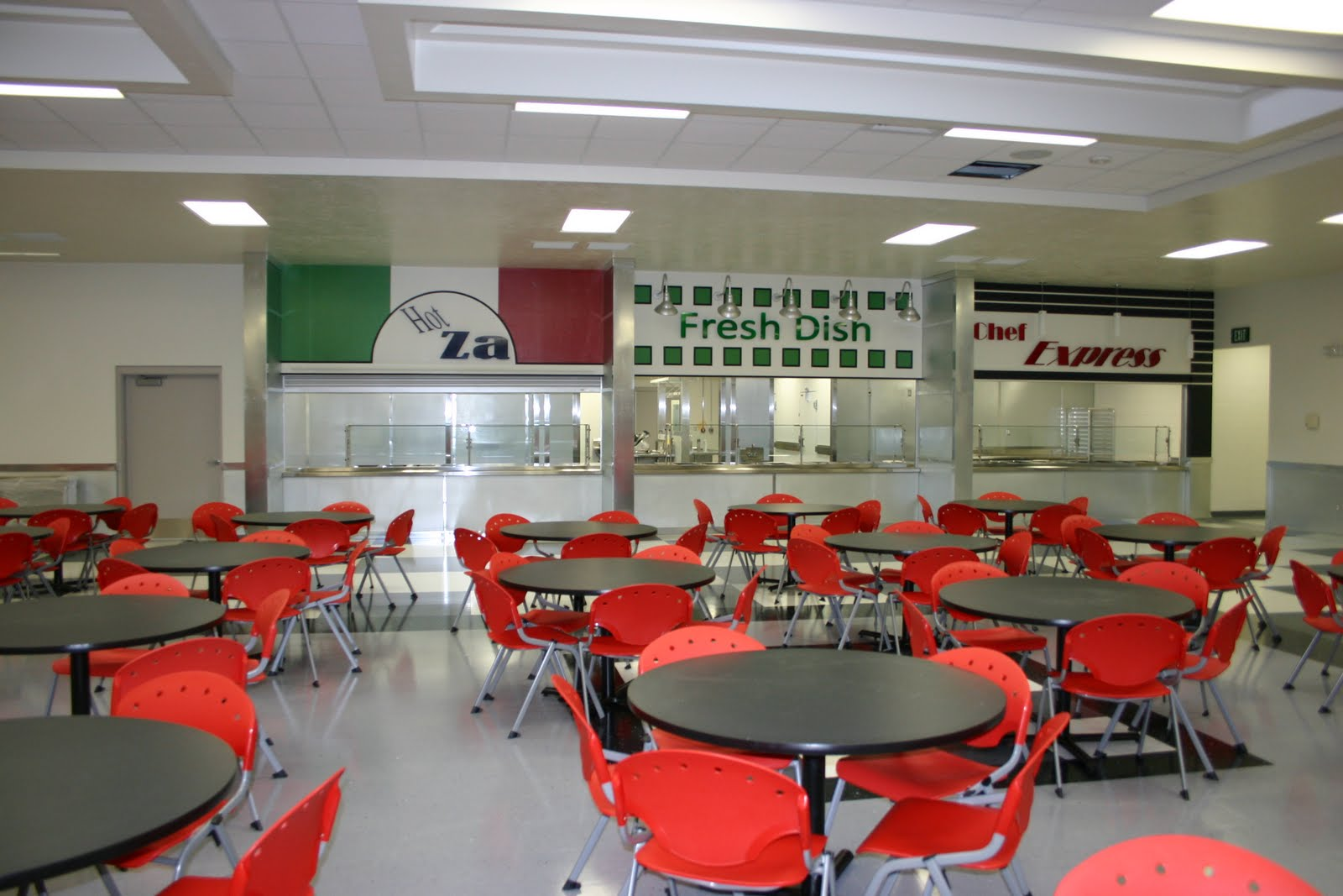 Snake River High School Cafeteria - Next Level Custom Signs ...