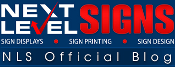 Next Level Custom Signs – Blog – Receive Updates On Our Best Selling Sign Products
